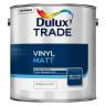 Dulux Trade Vinyl Matt Paint 2.5L Pure Brilliant White