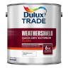 Dulux Trade Weathershield Exterior Gloss Paint 1L Brilliant White