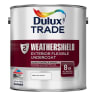 Dulux Trade Weathershield Undercoat Paint 2.5L Brilliant White