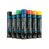 Ox Trade Permanent LineMarker Spray Paint 750ml Yellow Pack of 6