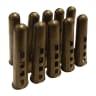 Rawlplug Wall Plugs 7mm Brown Pack of 100