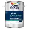 Dulux Trade Vinyl Soft Sheen Paint 5L Pure Brilliant White