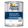 Dulux Trade Quick Dry Undercoat Paint 1L White