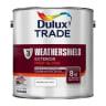 Dulux Trade Weathershield Exterior Gloss Paint 2.5L Brilliant White