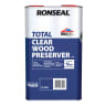 Ronseal Trade Total Wood Preserver 5L Clear
