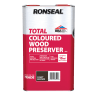 Ronseal Trade Total Wood Preserver 5L Light Brown