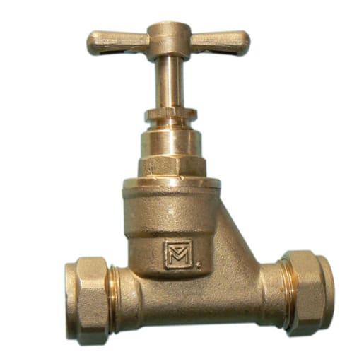 Altech Brass Stopcock 22mm
