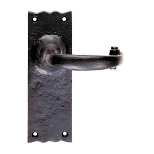 Carlisle Brass Traditional Lever Lock 70 x 245 x 163mm Black