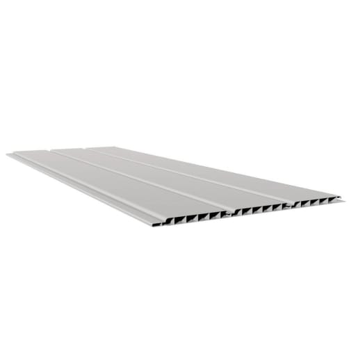 Freefoam Hollow Soffit 5M x 300mm x 10mm White Pack of 4