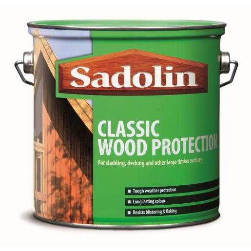 Sadolin Classic Wood Protection 2.5L Jacobean Walnut