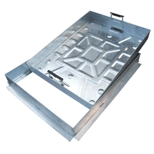 EJ Recessed Manhole Cover and Frame 10T 600 x 450mm Galvanised