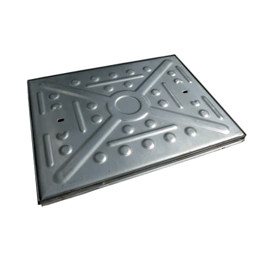 EJ Single Seal Manhole Cover and Frame 17T 600 x 450mm Galvanised