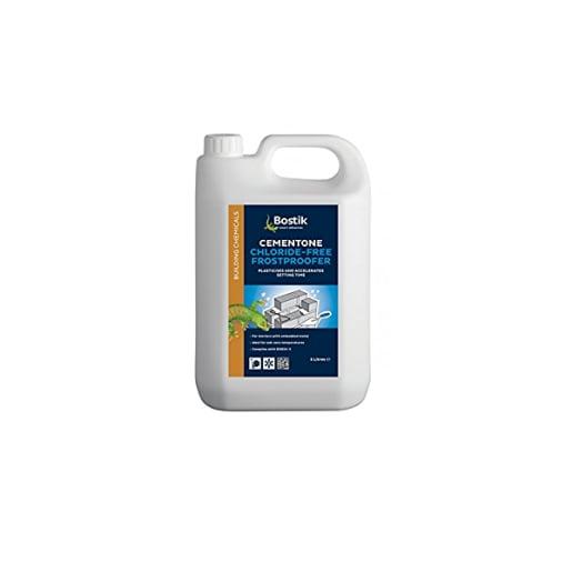 Bostik Cementone Wintaplas Chloride Free Frostproofer 5L White