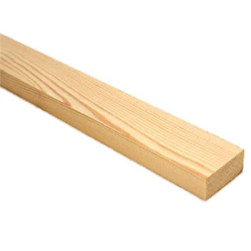 PEFC Plain Square Edge Board 16 x 38 x 1800mm (Act Size 12.5 x 33mm)