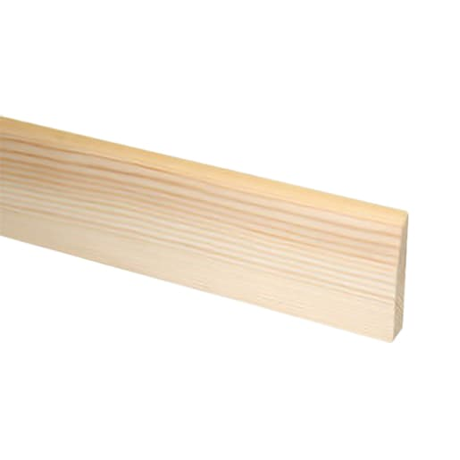 Redwood Chamf & Rounded Architrave 19 x 50mm (act size 14.5 x 45mm)