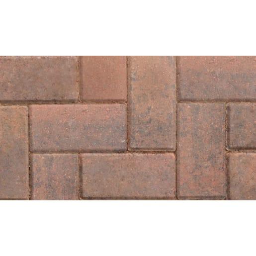 Marshalls Standard Concrete Block Paving 200 x 100 x 50mm Brindle