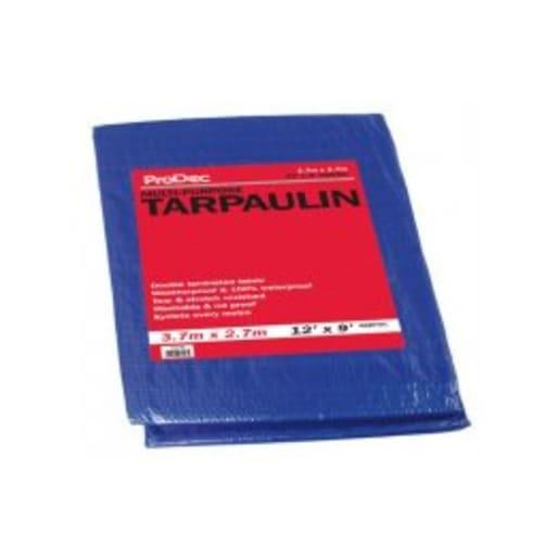ProDec Tarpaulin 3.7 x 2.7m Blue