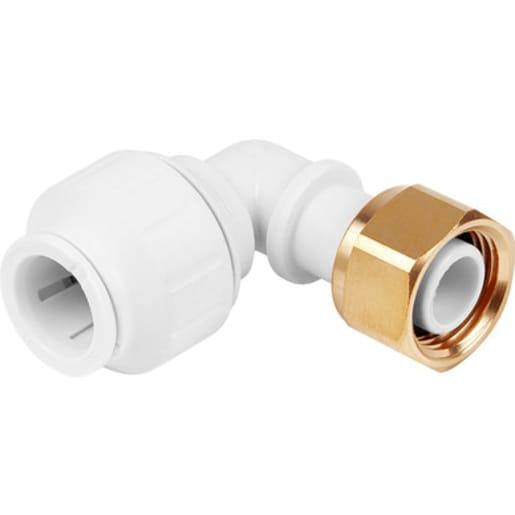 JG Speedfit Bent Tap Connector 15mm x 0.5