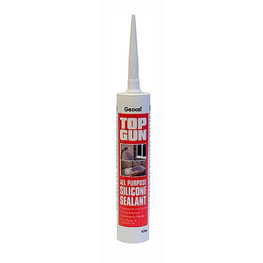 Geocel Top Gun All Purpose Silicone Seal 290ml White
