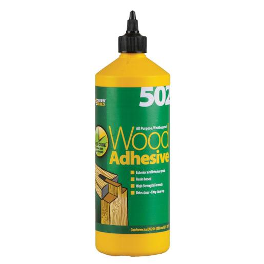 Everbuild All Purpose Wood Adhesive 1L White