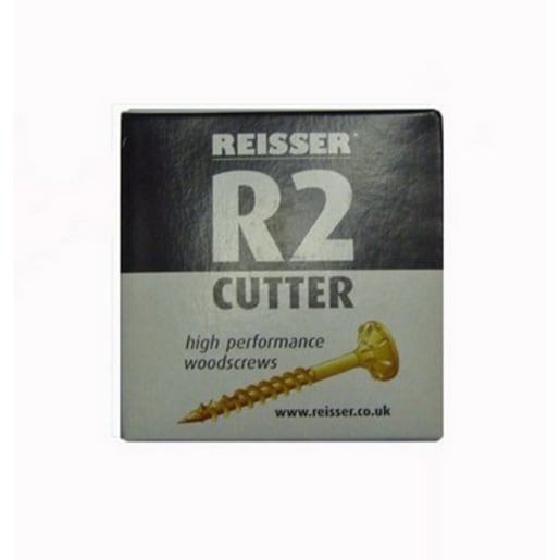 Reisser Cutter Pozi Partial Thread Woodscrews 5 x 80mm Pack of 200
