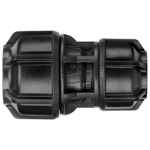 Philmac Reducing Joiner 25mm Black