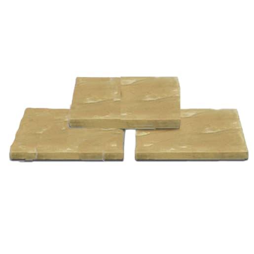 Ryton Block Paving 450 x 450 x 32mm Buff
