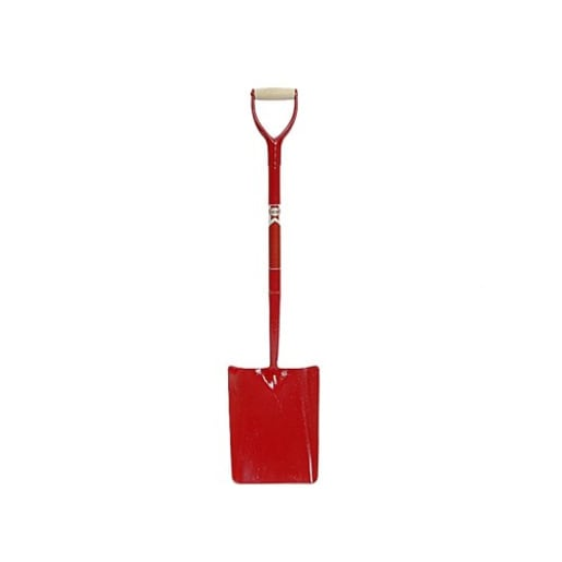Faithfull All Steel Taper Mouth Shovel Blade 300 x 240mm Brown