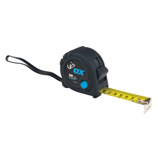 Ox Trade Tape Measure 5M x 25mm