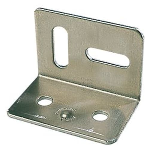 Perry No.315 Table Stretcher Plate 38mm Zinc Plated