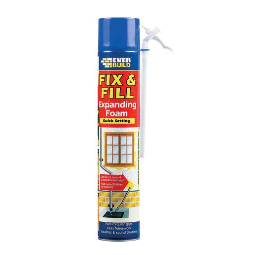 Everbuild Fill and Fix Expanding Foam 750ml