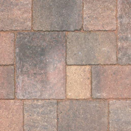 Marshalls Drivesett Tegula Traditional Block Paving 160 x 160 x 50mm