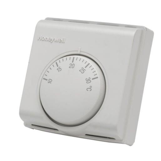 Honeywell Line Voltage Room Thermostat White