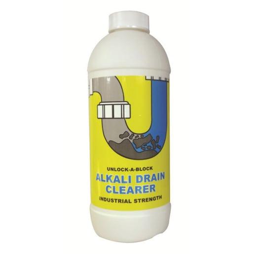 Melpass Unlock-A-Block Alkali Drain Cleaner 1 Litre
