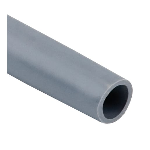 Polypipe PolyPlumb Barrier Pipe 3m x 22mm Grey