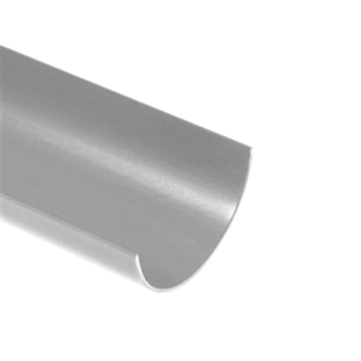 Polypipe Rainwater Half Round Gutter 4m x 112mm White