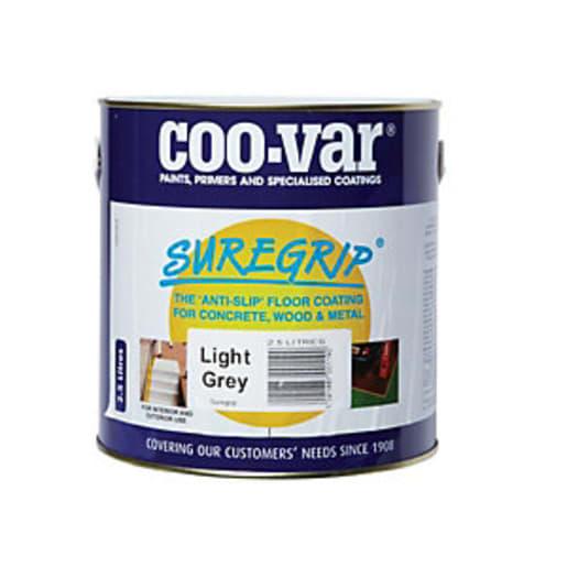Coo-Var Suregrip Anti Slip Floor Paint 5L Grey