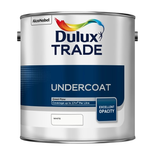 Dulux Trade Undercoat Paint 2.5L White