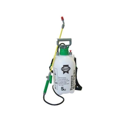 Faithfull Shoulder Strap Pressure Sprayer 5 Litre