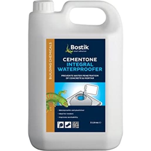 Bostik Integral Liquid Waterproofer 5L Blue