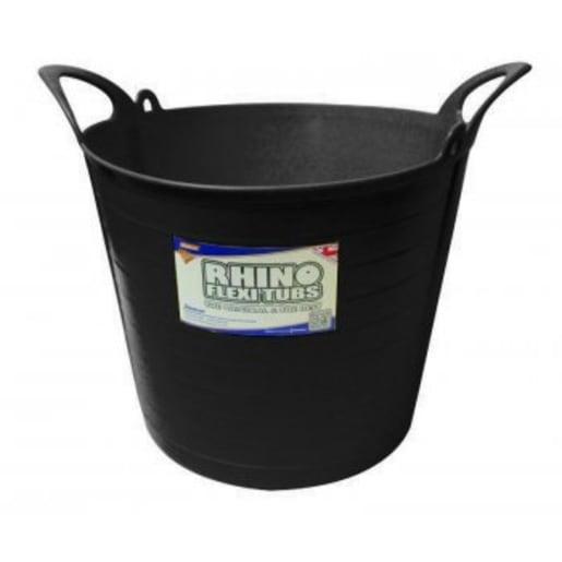 Rhino Flexi Tub 26L Black