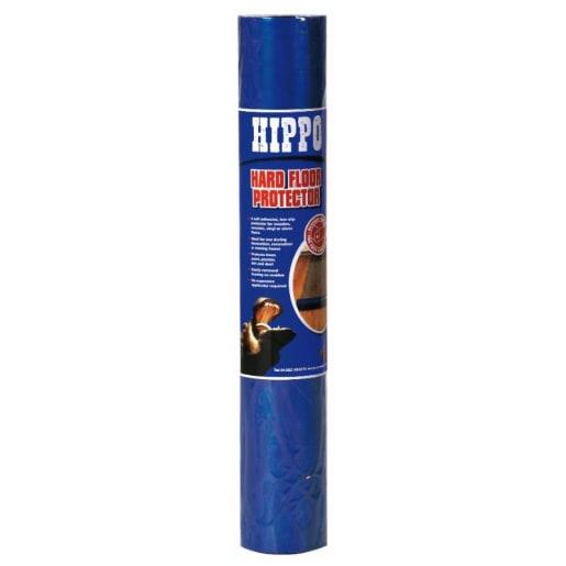 Hippo Hard Floor Protector 50m x 600mm Blue