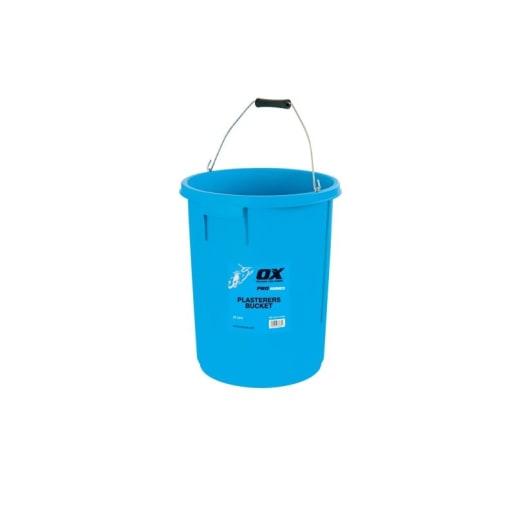 Ox Pro Plasterers Bucket 5 Gallon / 25 Litres Blue