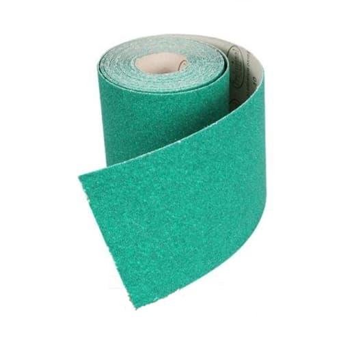 ProDec 80 Grit Aluminium Oxide Green Sandpaper 10m x 115mm