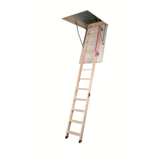 Fakro 600 x 1200mm Opening Loft Ladder 2800mm