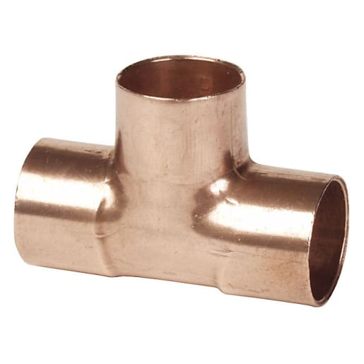 Altech End Feed Equal Tee 22mm