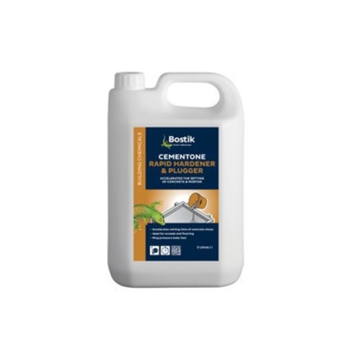 Bostik Cementone Rapid Hardener and Plugger 5L Clear