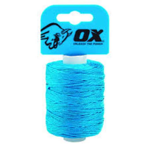 Ox Pro Nylon Brickline 105M Cyan