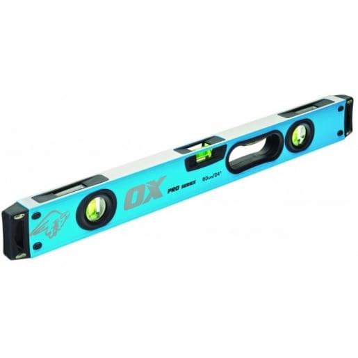 Ox Pro Magnetic Spirit Level 600mm Blue