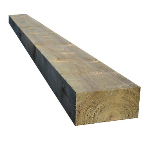 FSC Softwood Treated Sleeper 100 x 200 x 2400mm Green